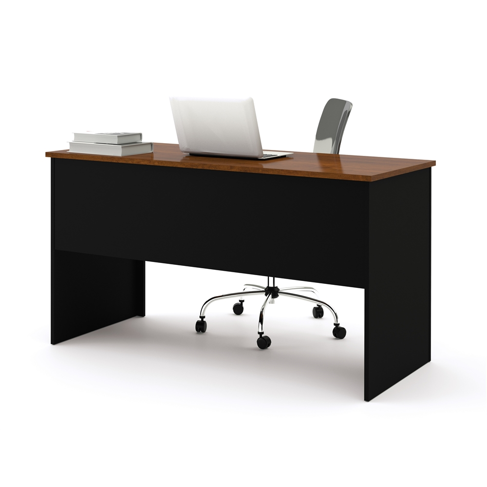 Somerville Workstation With Two Pedestals In Black