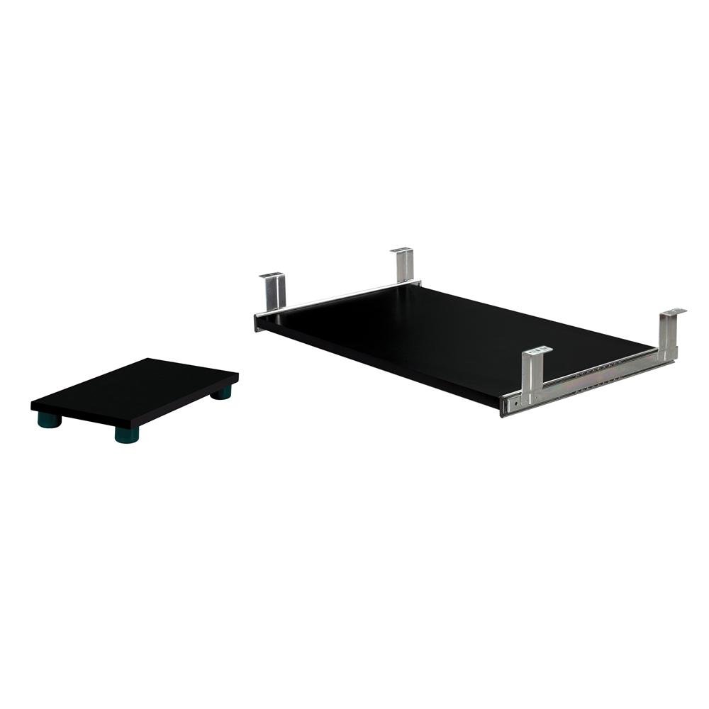 Standard Keyboard Drawer Amp Cpu Platform In Charcoal