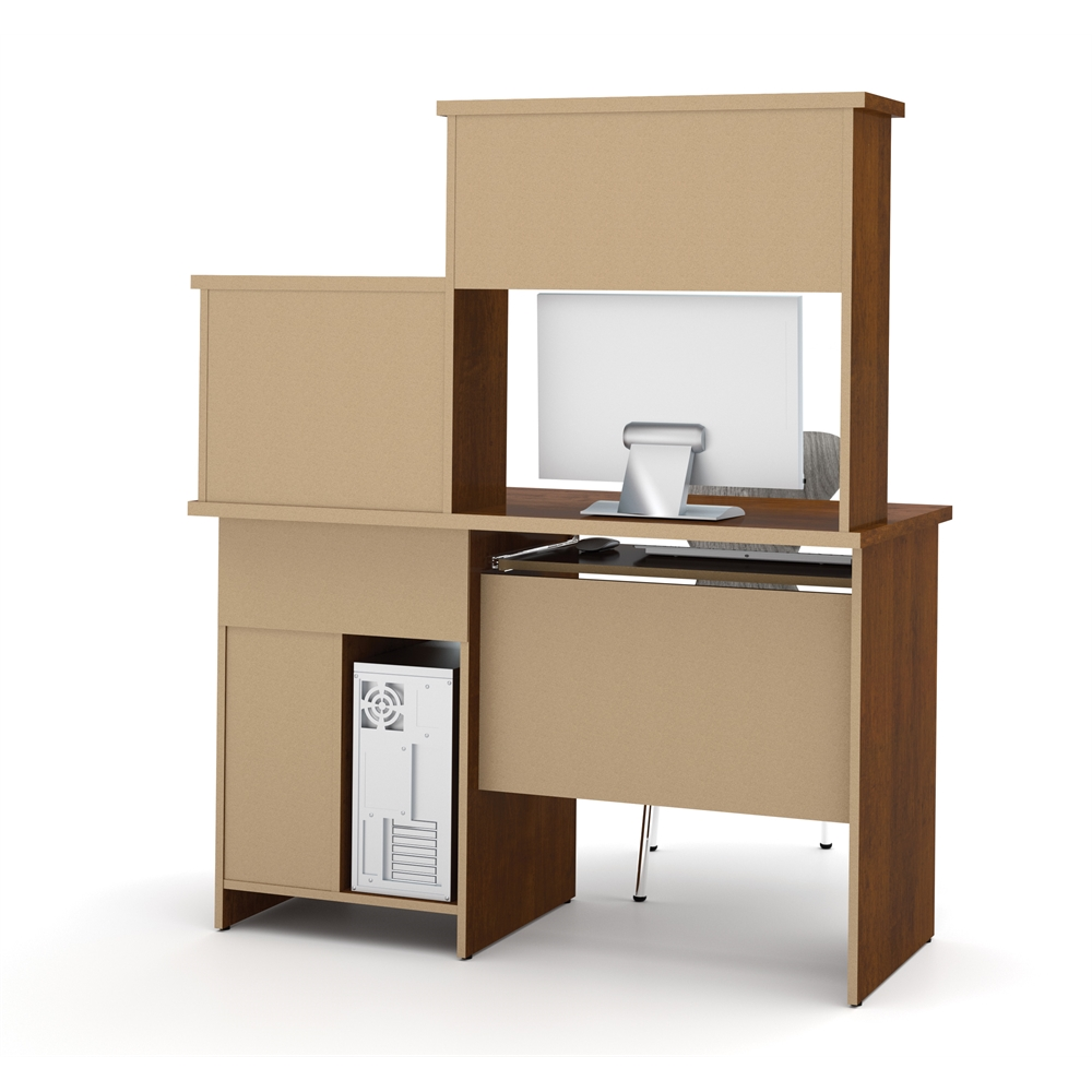 Active Computer Workstation In Tuscany Brown