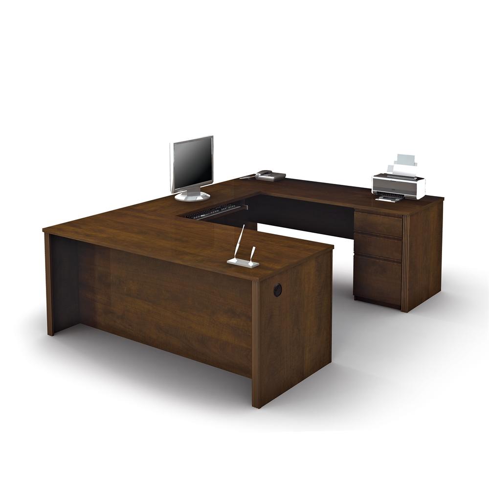 Prestige U Shaped Workstation Including One Pedestal In