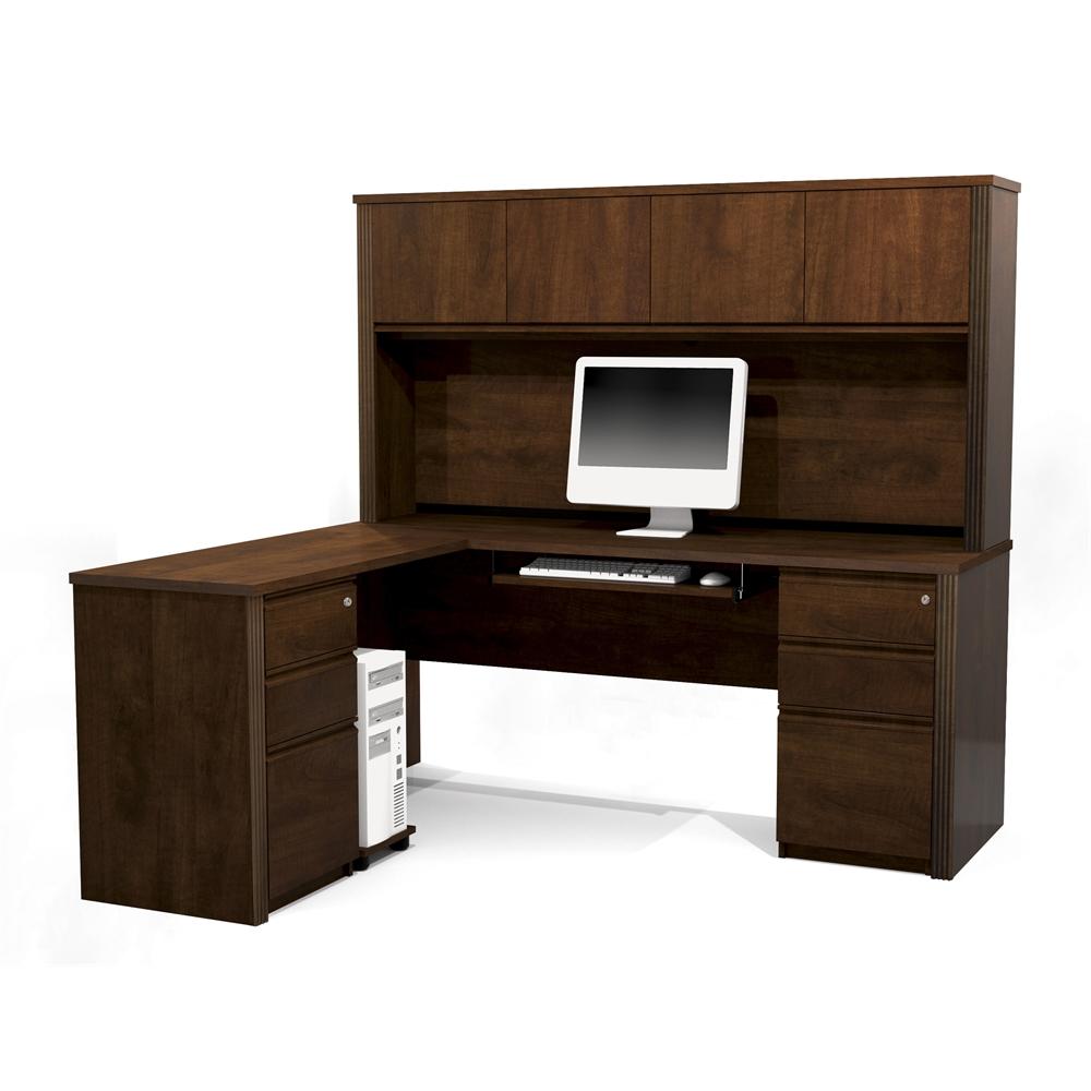 Prestige L Shaped Workstation Including Assembled