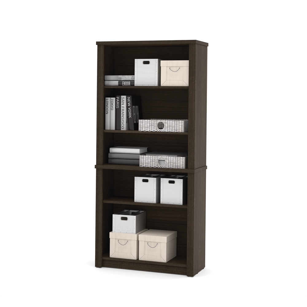 Embassy modular bookcase in Dark Chocolate