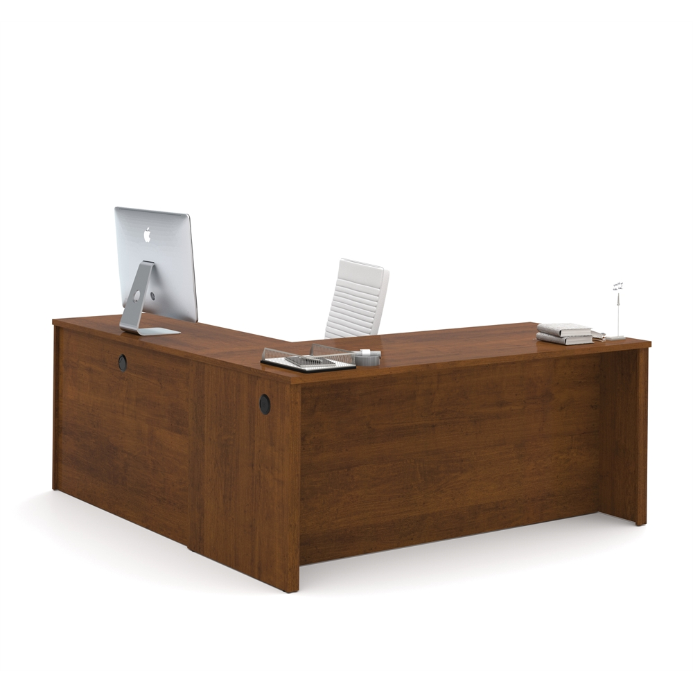 Embassy 71 Quot L Shaped Desk In Tuscany Brown