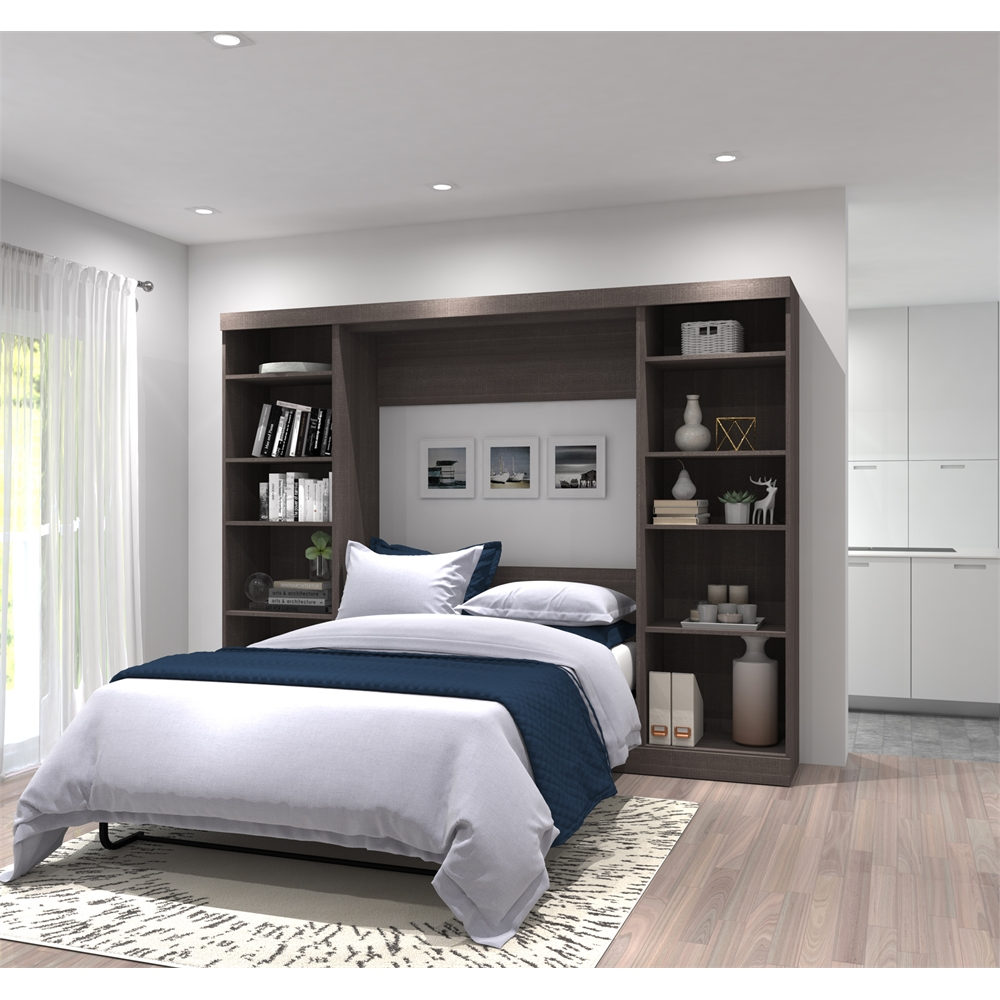 "109"" Full Wall Bed Kit In Bark Gray"