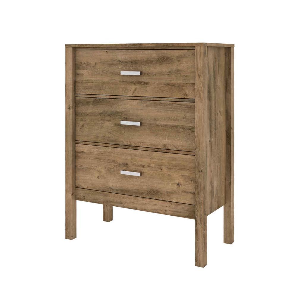 Bestar Capella Dresser - Rustic Brown