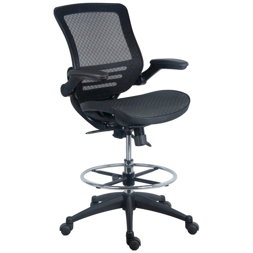 Evolve All Mesh Heavy Duty Drafting Chair Dark Knight