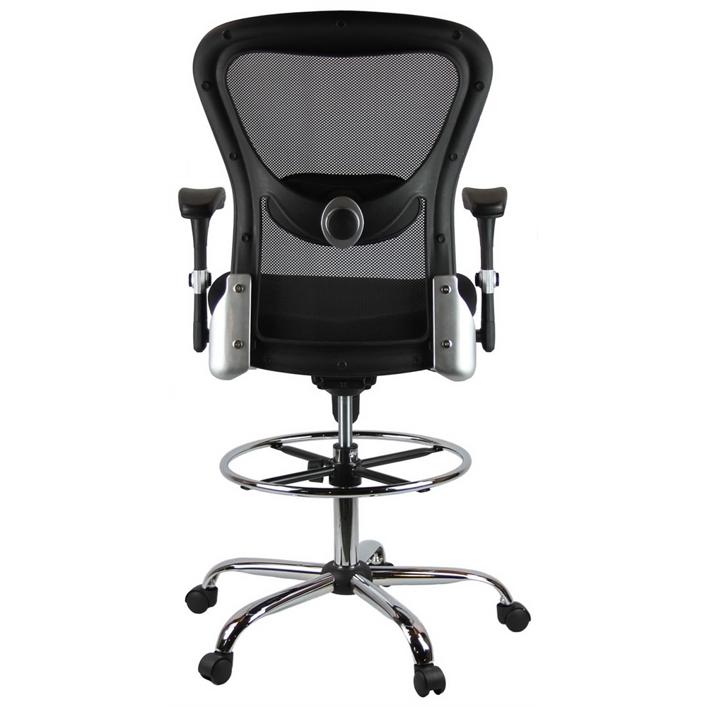 Similar Products  sc 1 st  Bison Office & Deluxe Mesh Drafting Stool with Arms