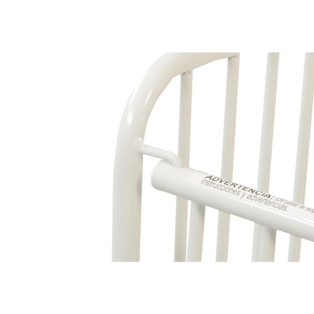 The New Folding Arched Compact Crib, White. Picture 7