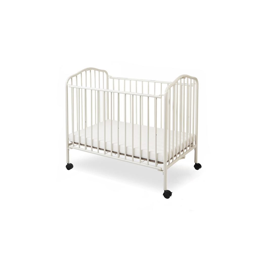 Mini/Portable/Compact Crib, White. Picture 1