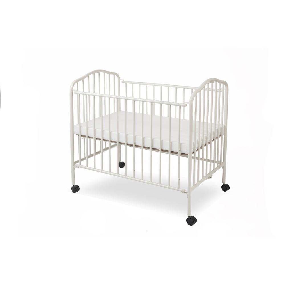 Mini/Portable/Compact Crib, White. Picture 2