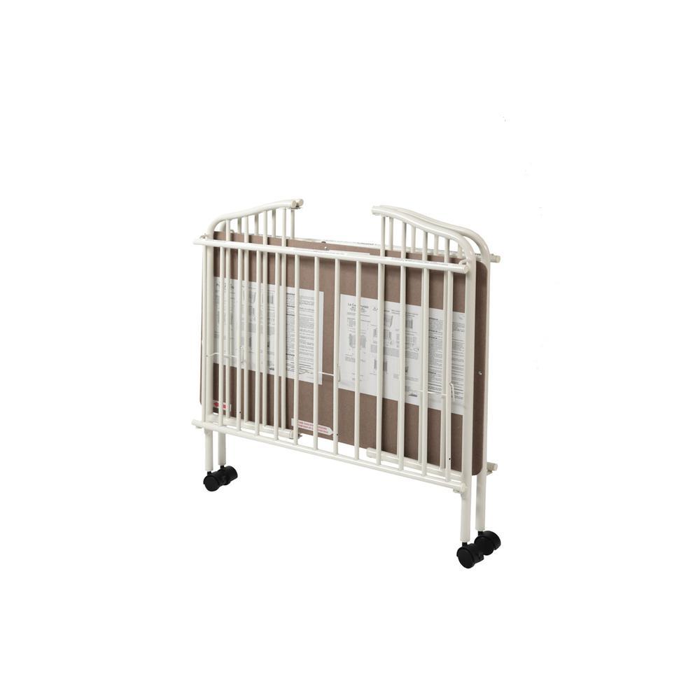 Mini/Portable/Compact Crib, White. Picture 3