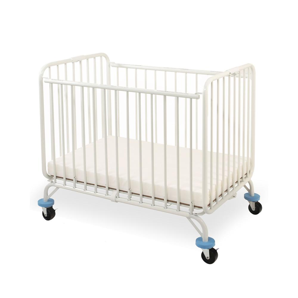 Deluxe Holiday Crib, White. Picture 1