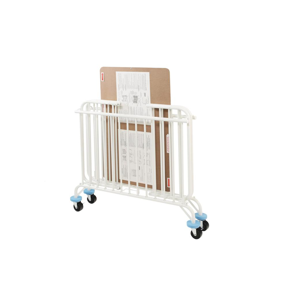 Deluxe Holiday Crib, White. Picture 2