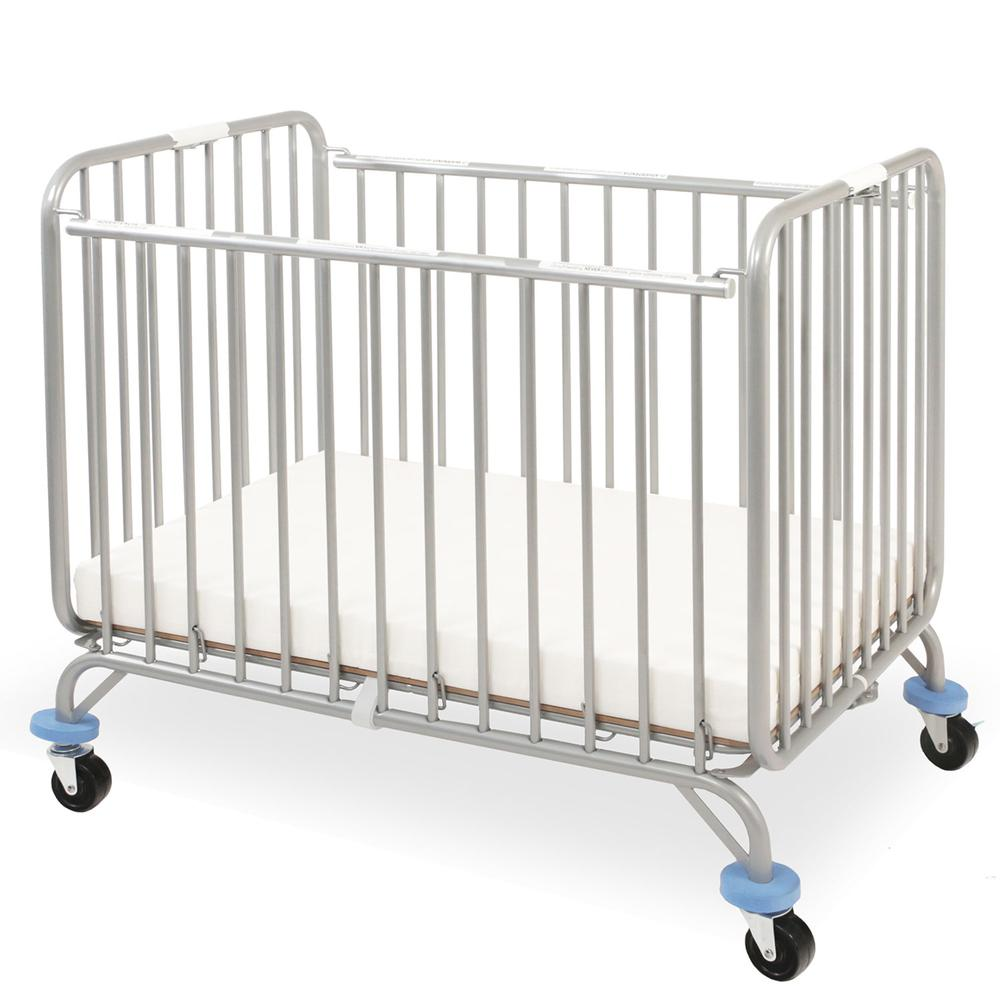Chromacoat Deluxe Holiday Crib, Chrome. Picture 1
