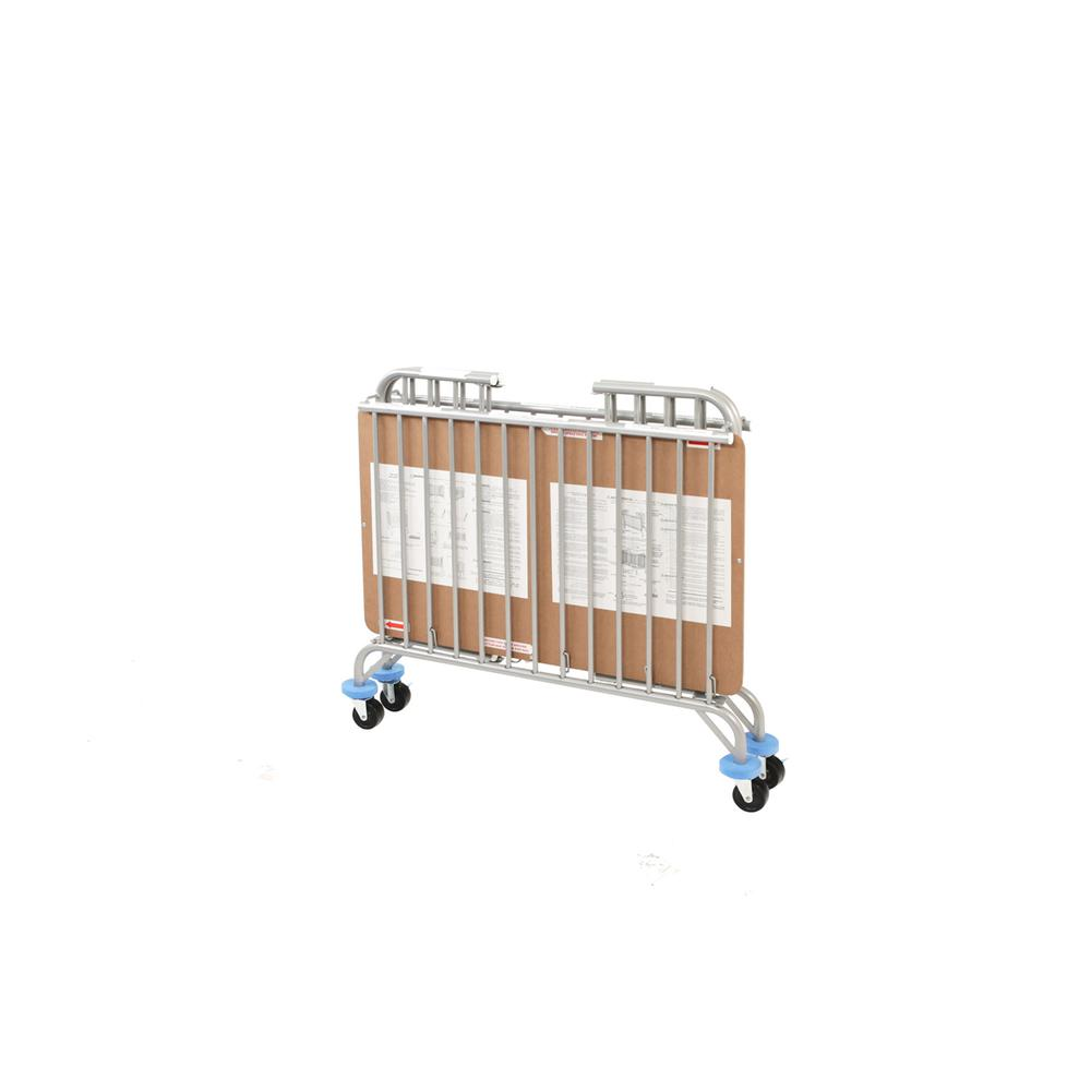 Chromacoat Deluxe Holiday Crib, Chrome. Picture 2