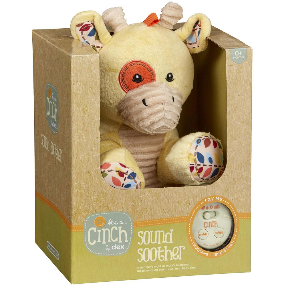 Cinch by dexbaby Plush Sleep Aid Womb Sound Soother – Giraffe. Picture 4
