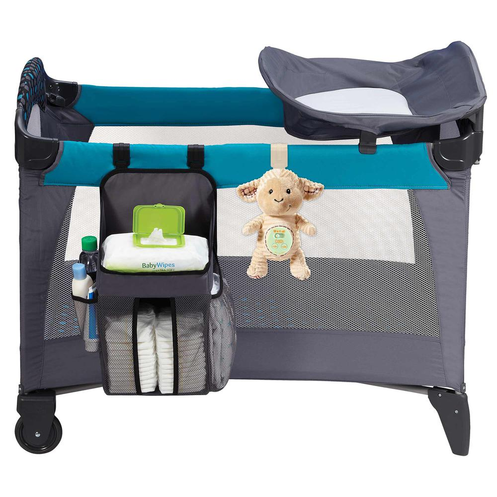 Cinch by dexbaby Plush Mini Lamb - Sleep Aid Womb Sound Soother w/Playardand Crib Attachment. Picture 8