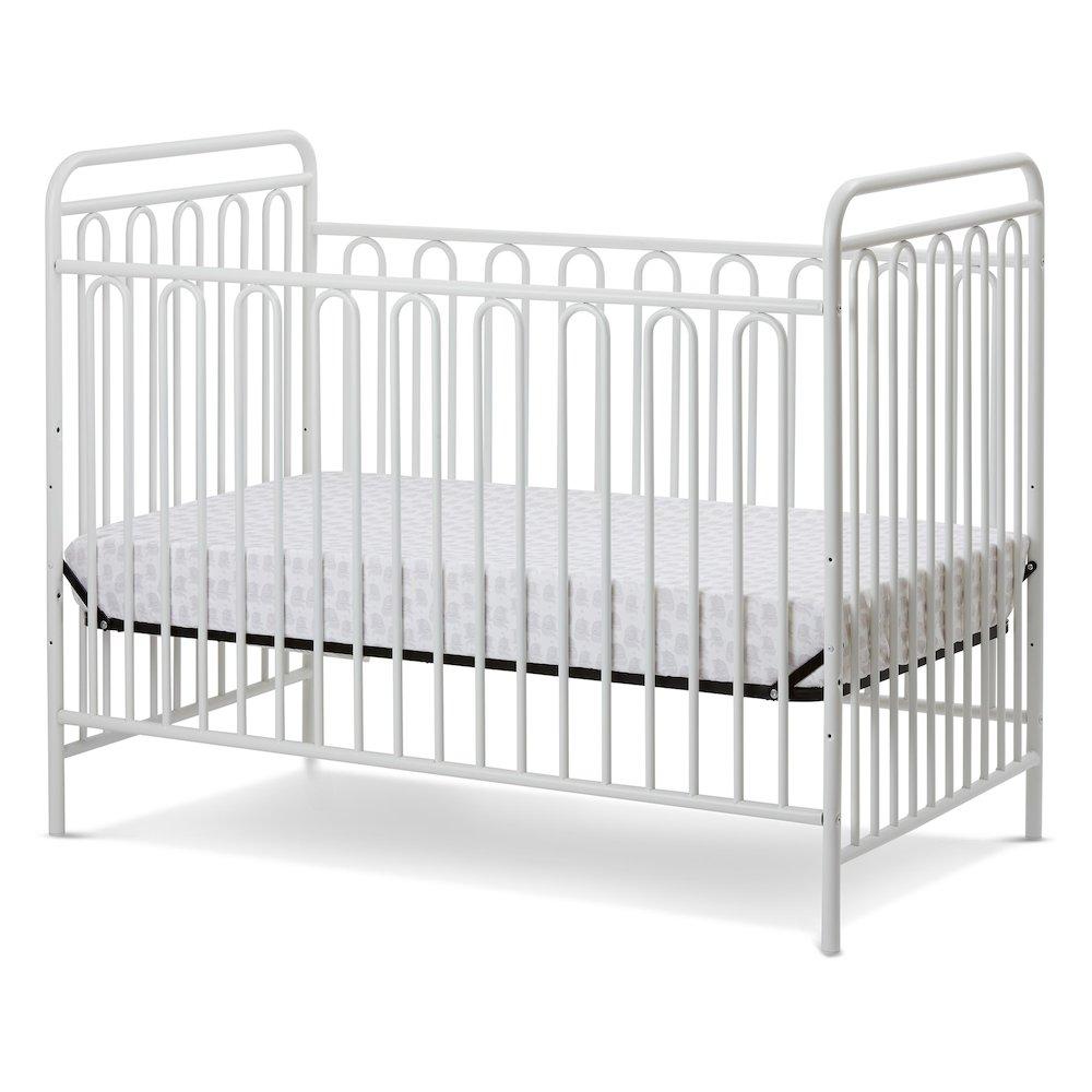 Trinity 3 In 1 Convertible Full Sized Metal Crib In