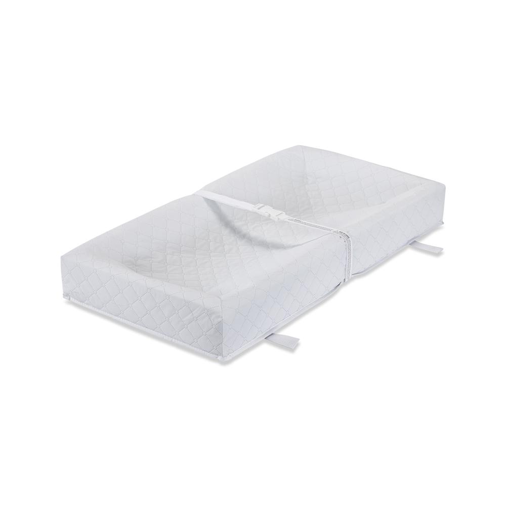 """30"""" 4 Sided Pad - White, White. Picture 2"""