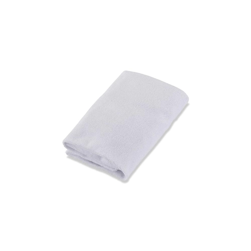 LA Baby Combo Pack with 32'' Contour Changing Pad and White Terry Cover, White. Picture 3