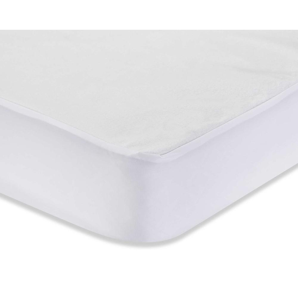 Full Size Waterproof Cover, White. Picture 1