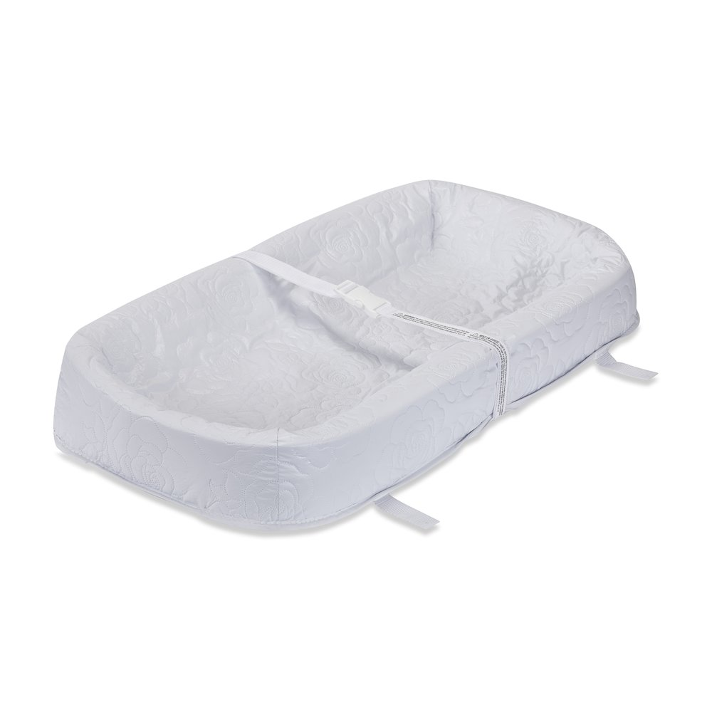 4 Sided Changing Pad, White. Picture 1