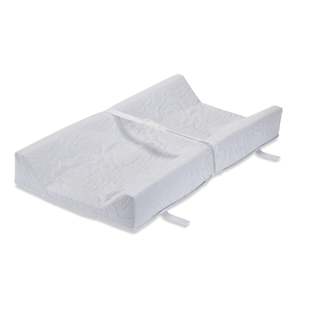 Contour Changing Pad, White. Picture 1