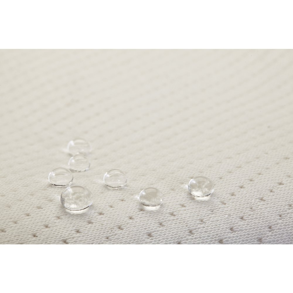 """32"""" 4 Sided Changing Pad with Blended Organic Cotton Cover. Picture 3"""
