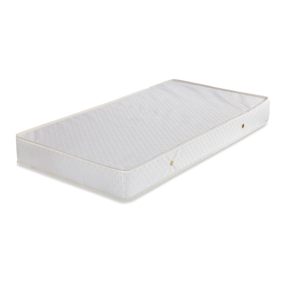 2 in 1 Crib Mattress with Jacquard Cover & Organic Cotton Layers. Picture 4