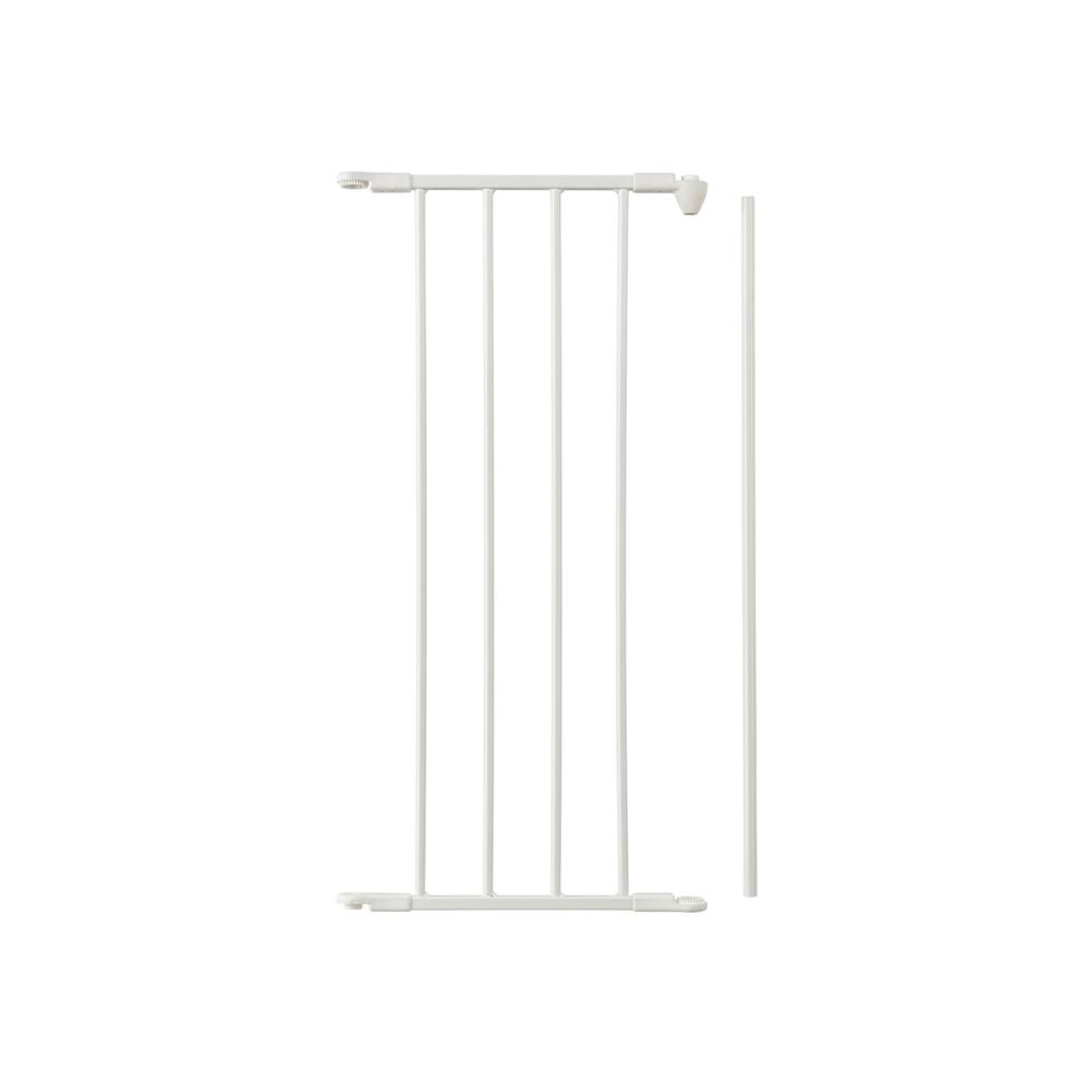 "Flex Safety Gate Extension Panel 13"", White. Picture 1"