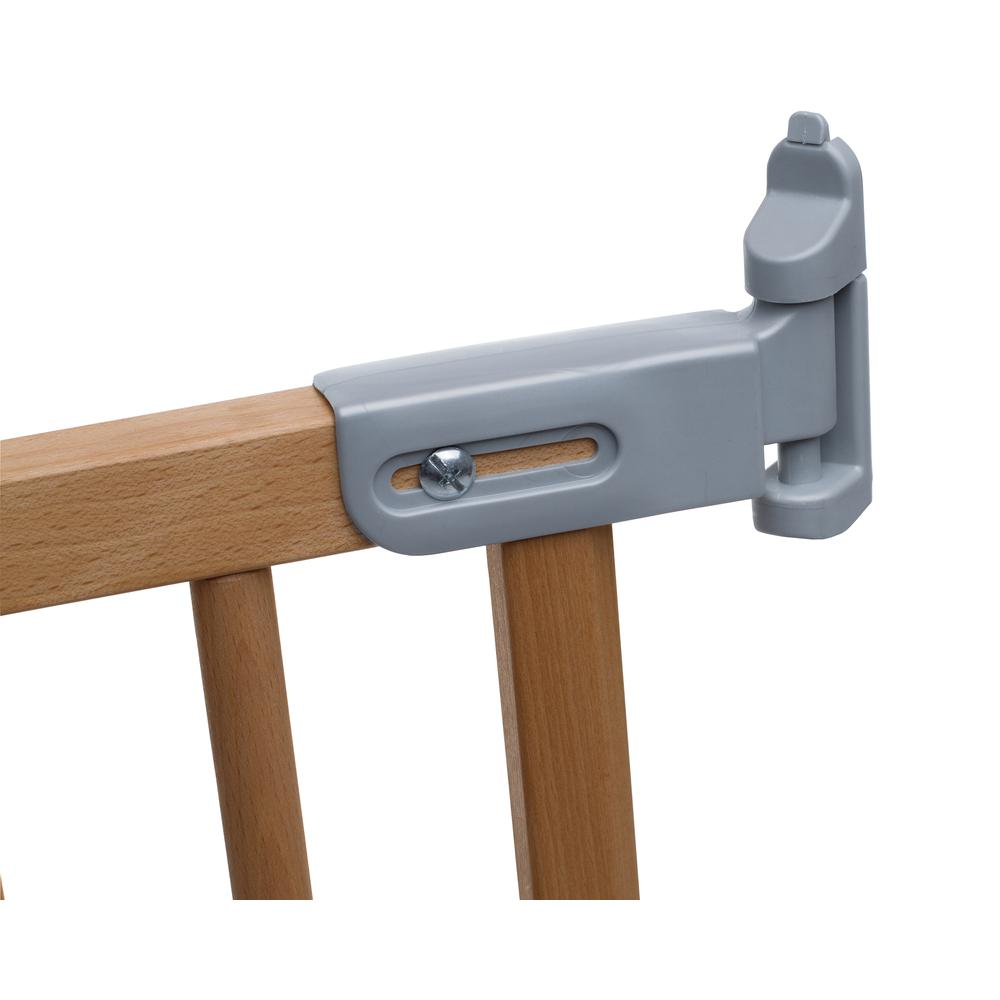 """Flexi Fit Angle Mount Safety Gate 27.2"""" - 41.9"""", Beechwood. Picture 3"""