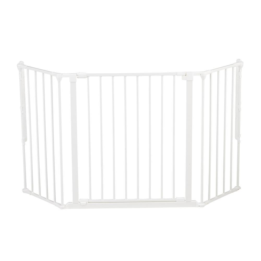"Flex M Safety Gate 35.4"" - 57.5"", White. Picture 6"