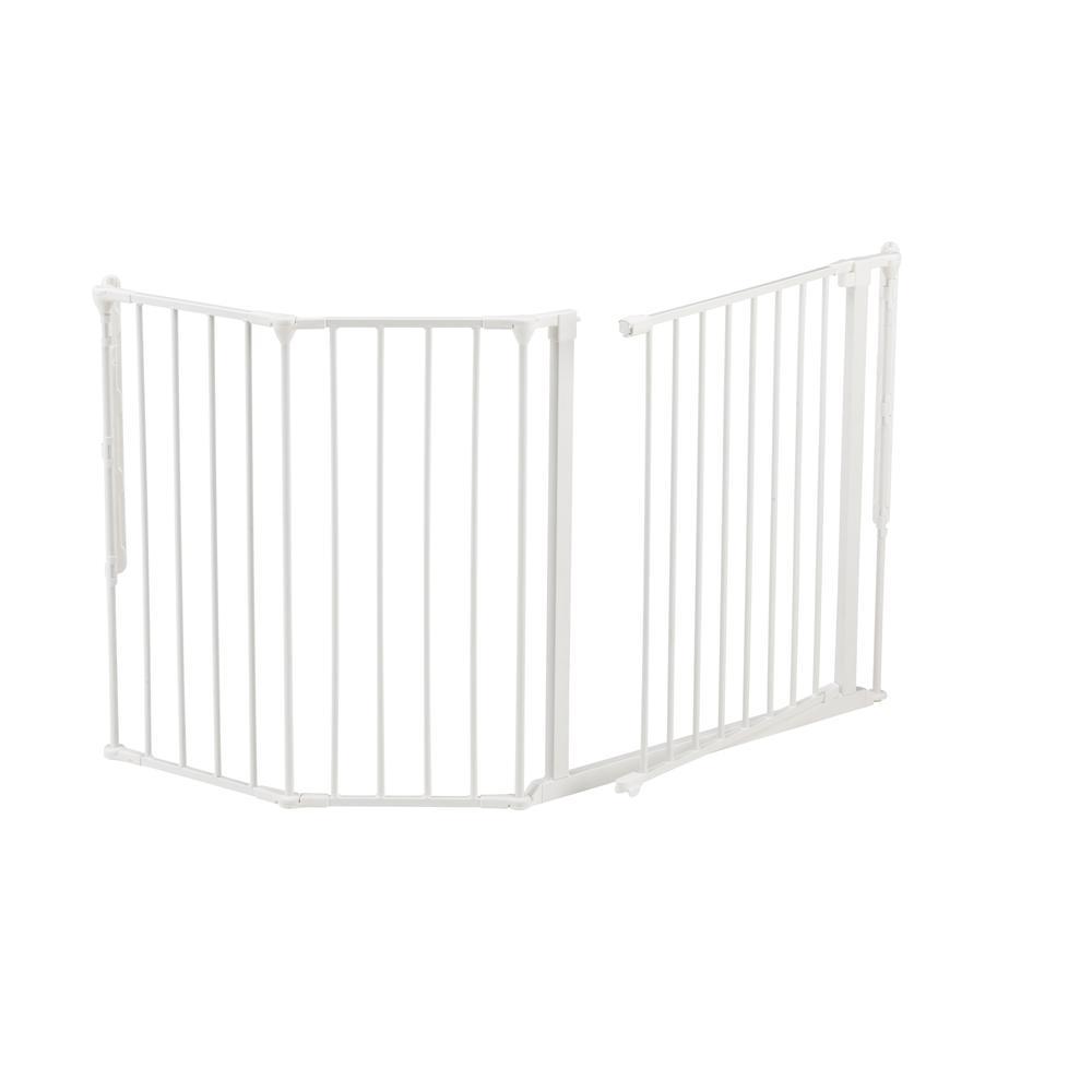 "Flex M Safety Gate 35.4"" - 57.5"", White. Picture 5"