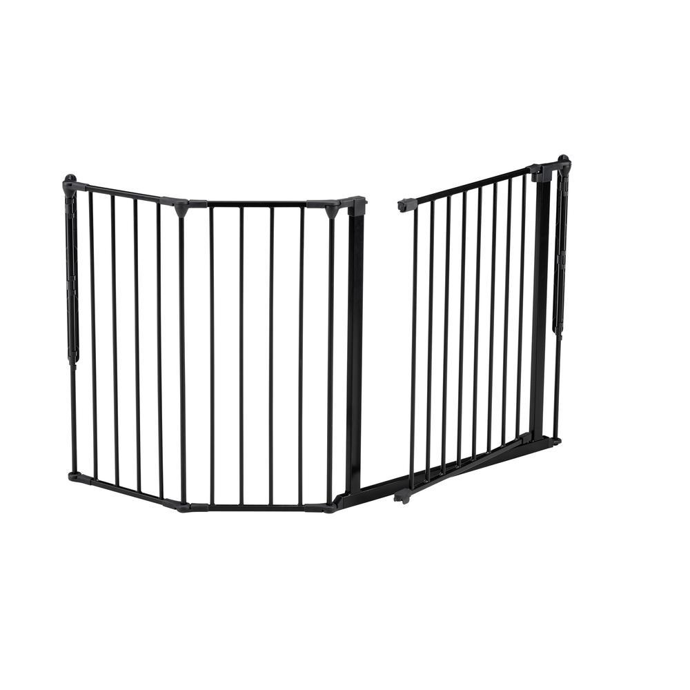 "Flex M Safety Gate 35.4"" - 57.5"", Black. Picture 3"