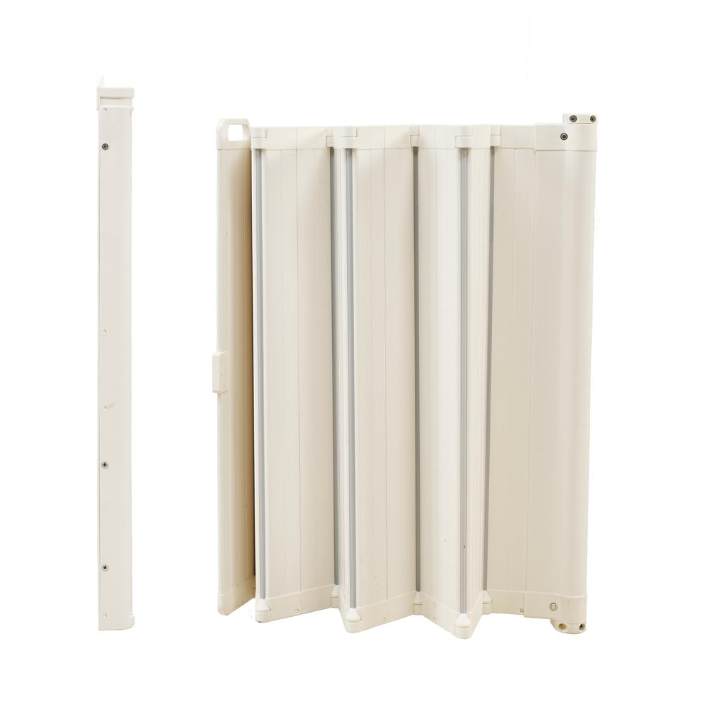 "Guard Me Auto Retractable Safety Gate, 36"", White. Picture 5"