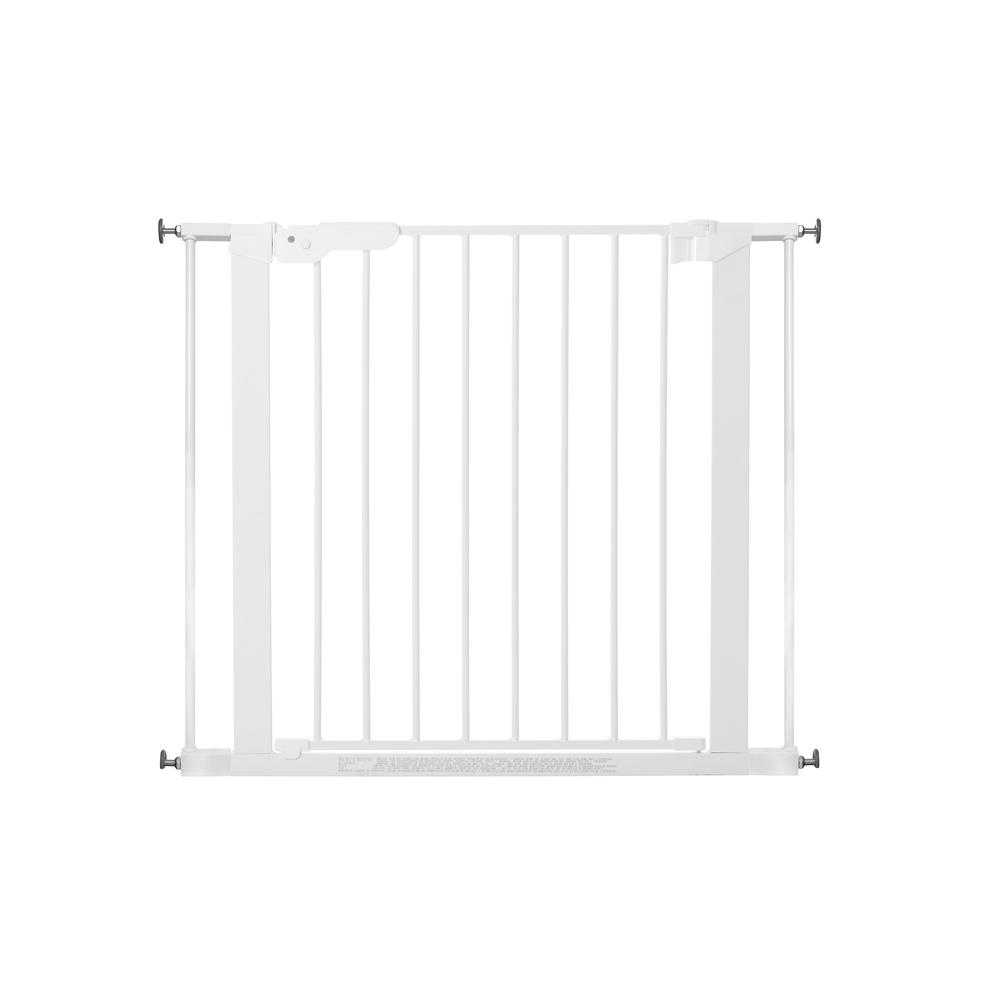 """Premier Pressure Mount Safety Gate with 2 Extensions 28.9"""" - 36.7"""", White. Picture 5"""