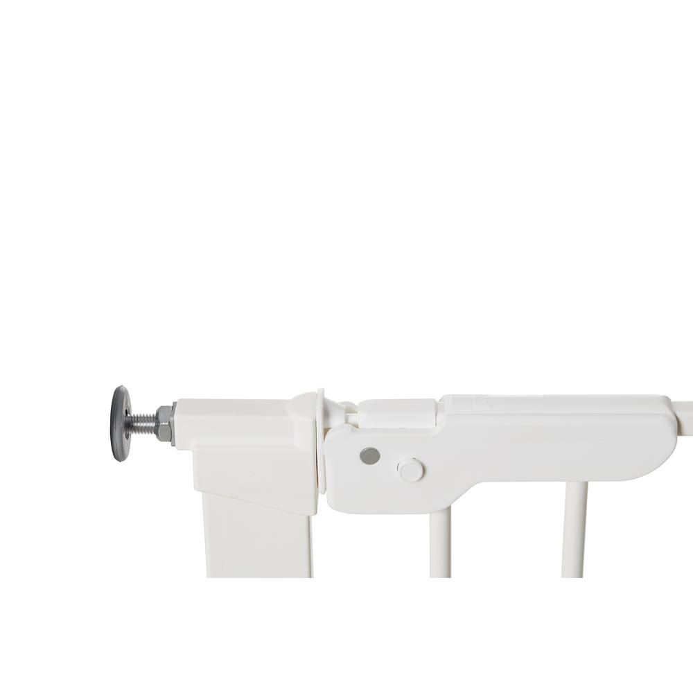 """Premier Pressure Mount Safety Gate with 2 Extensions 28.9"""" - 36.7"""", White. Picture 3"""