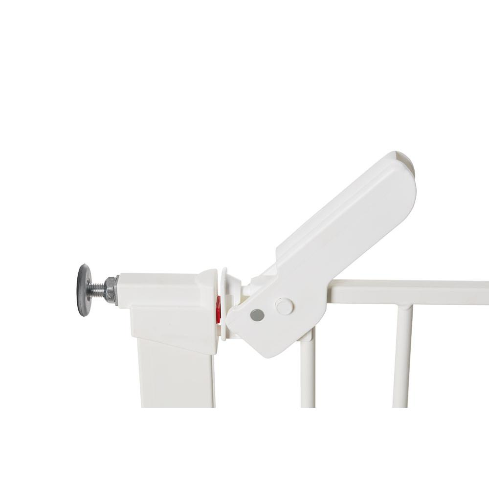 """Premier Pressure Mount Safety Gate with 2 Extensions 28.9"""" - 36.7"""", White. Picture 2"""