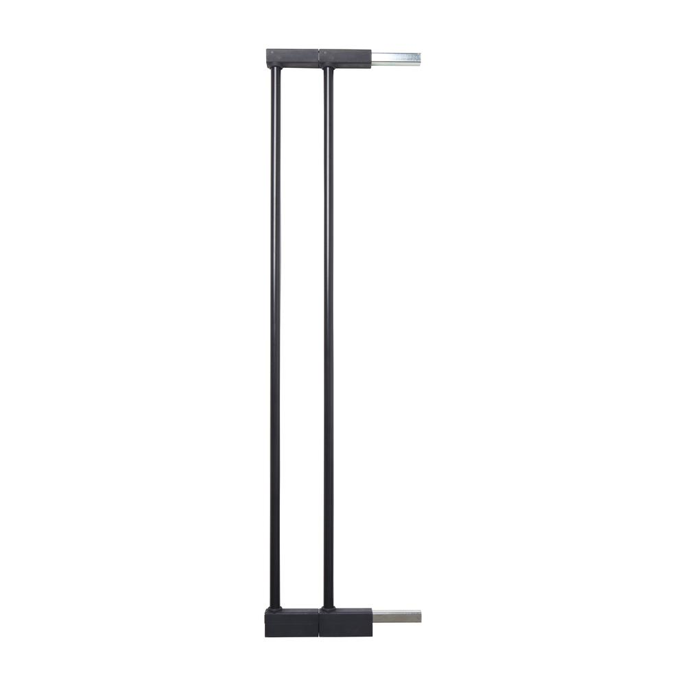 """2 x 2.8"""" Extension Kit for the Premier Pressure Mount Safety Gate, Black. Picture 3"""