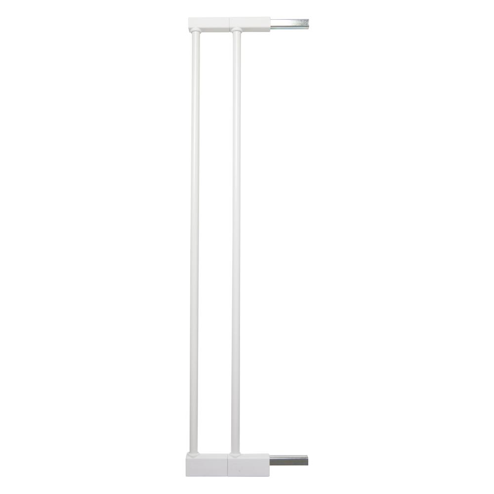 """2 x 2.8"""" Extension Kit for the Premier Pressure Mount Safety Gate, White. Picture 1"""
