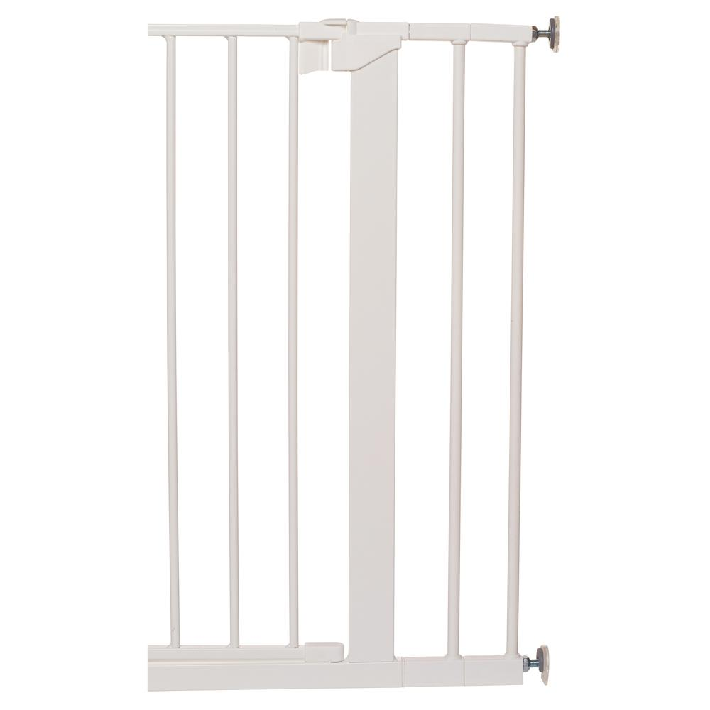 """2 x 2.8"""" Extension Kit for the Premier Pressure Mount Safety Gate, White. Picture 2"""