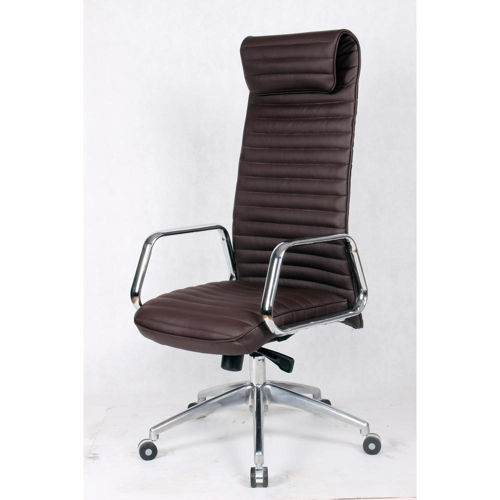 Ox Office Chair High Back Dark Brown