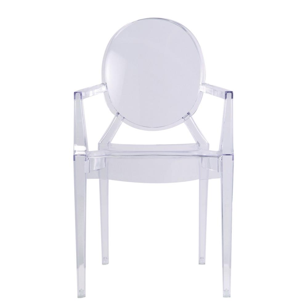 Clear Arm Chair Clear