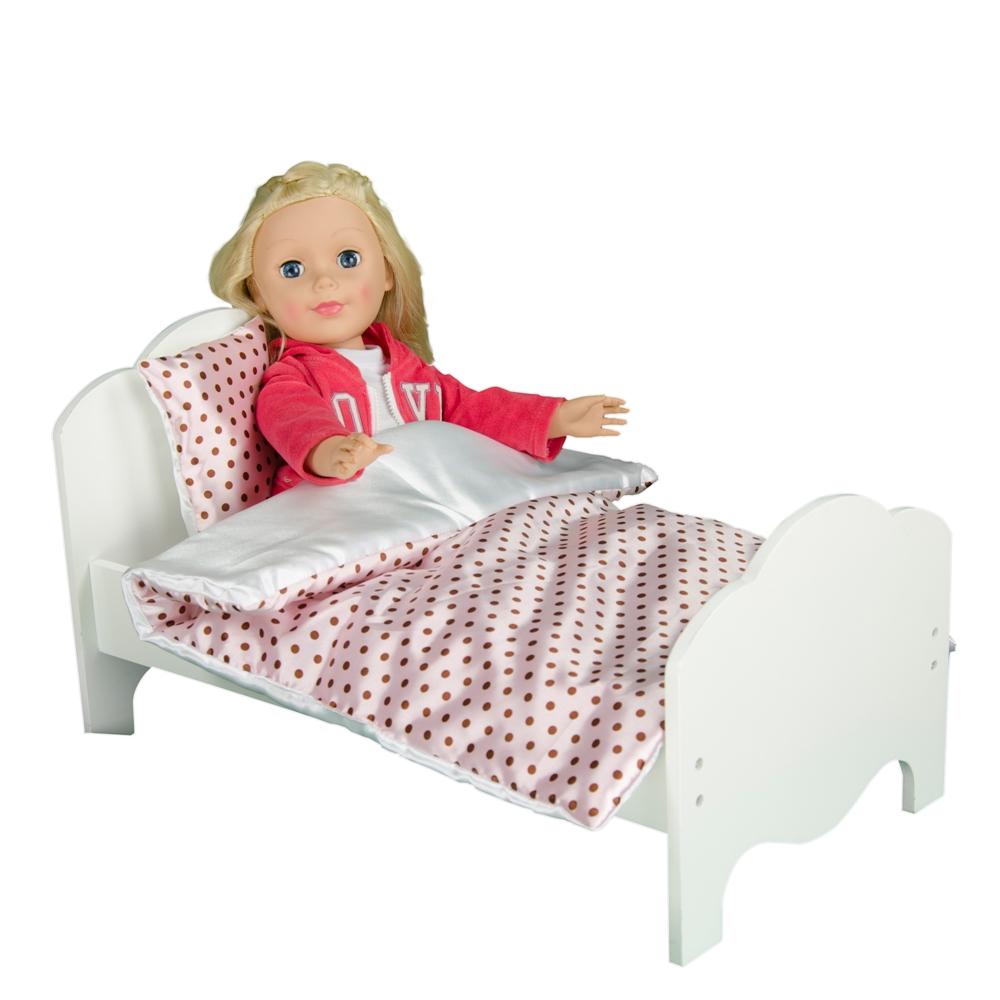 Little Princess 18 Quot Doll Furniture Bedding Polka Dots