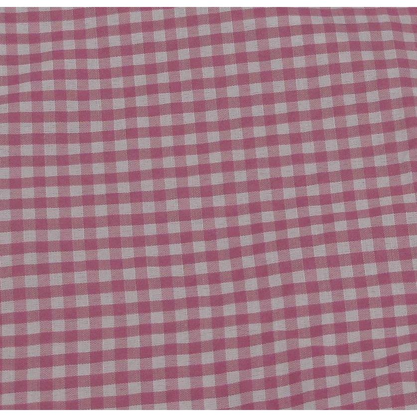 Rectangular Willow Hamper Cloth Liner - Pink. Picture 1