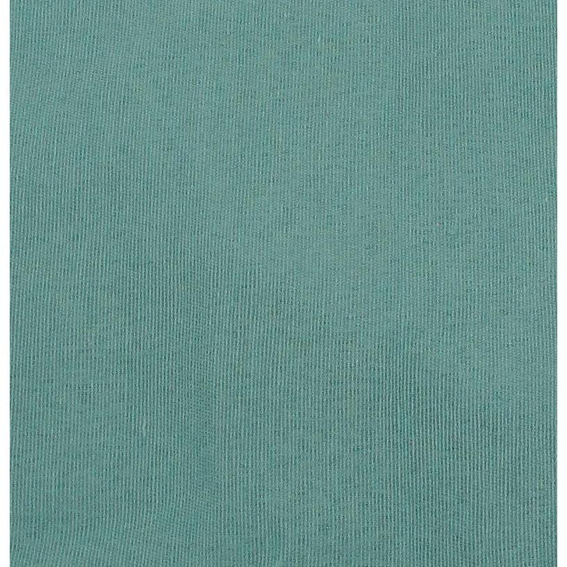 Rectangular Willow Hamper Cloth Liner - Teal. Picture 1