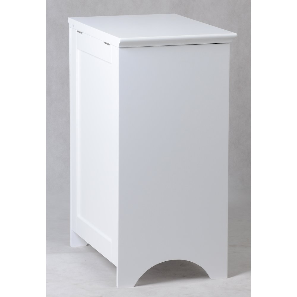 Contemporary Country Louvered Front Hamper. Picture 7