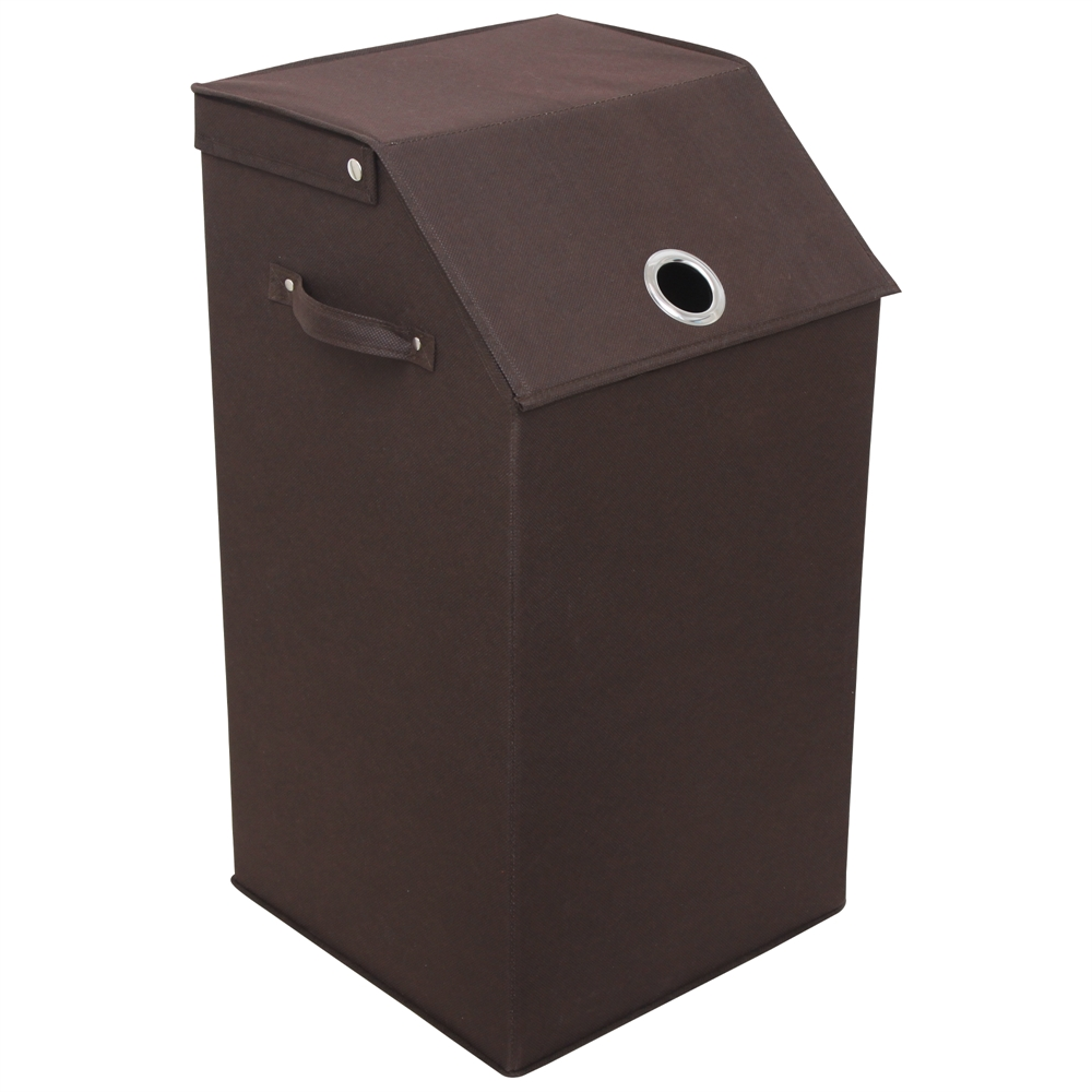 Flop Top Laundry Hamper Espresso