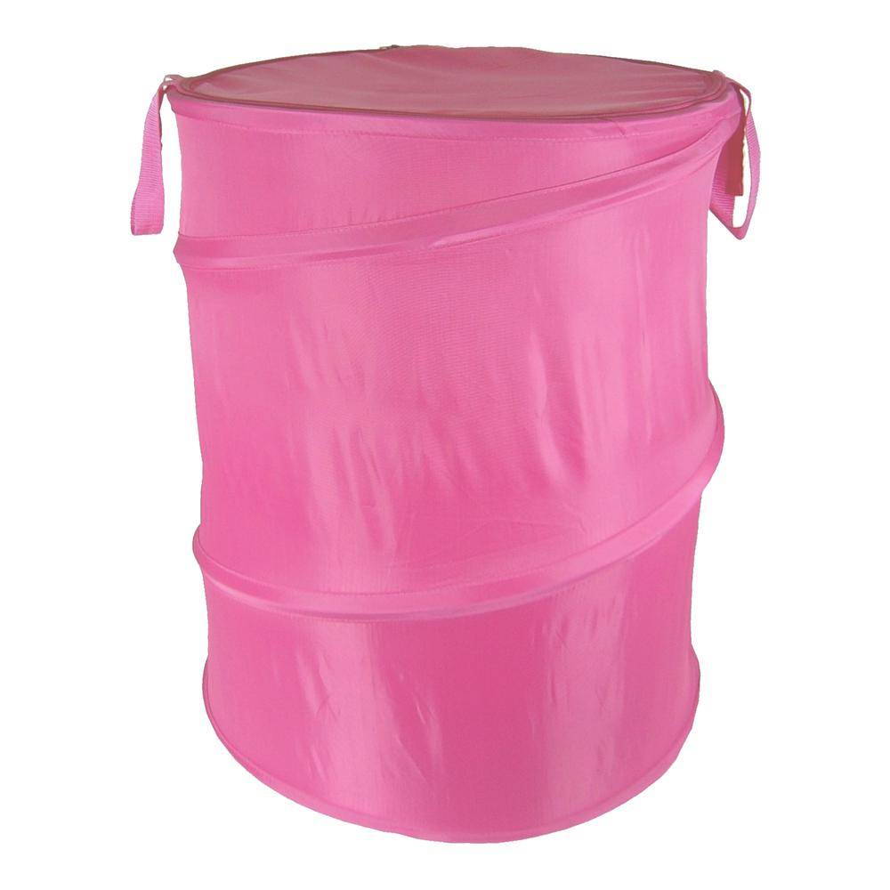The Original Bongo Bag - Pop Up Hamper, Hot Pink. Picture 1