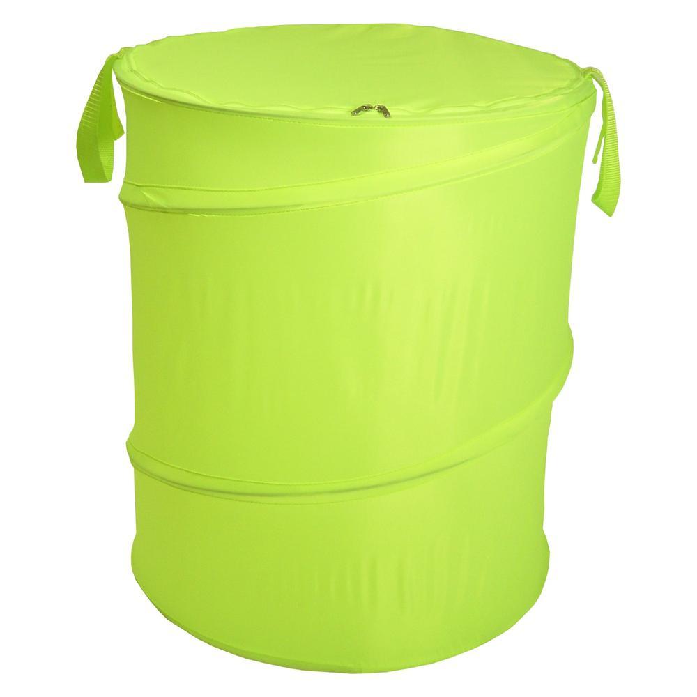 The Original Bongo Bag - Pop Up Hamper, Lime Green. Picture 1